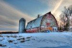 HDR Barn